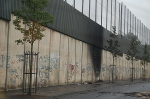The Peace Wall, Belfast, July 12, 2007